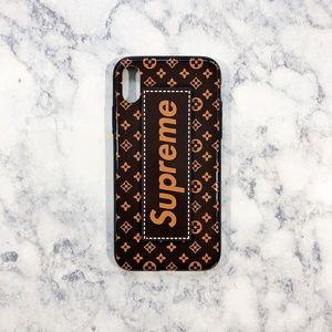 IPhone X Supreme Case